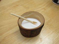 Wood bowl (salt cellar) with dremel wooden salt, wooden bowls, salt cellars, wood bowls, craft projects, saltcellar