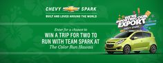 Win a trip for 2 to The Color Run Hawaii at www.thecolorrunwithspark.com!