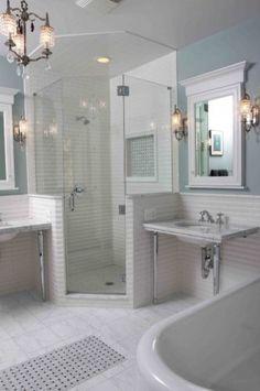 Vintage Bathroom traditional bathroom