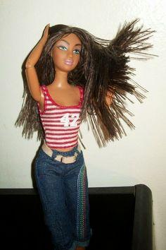 Mattel Flavas Party Tika on a My Scene Madison body