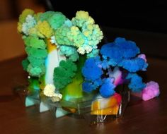A Little Science Project: Growing Crystals by MaryAnne from Mama Smiles at Alex Toys