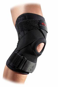 McDavid 425 Ligament Knee Support (Black, Large)