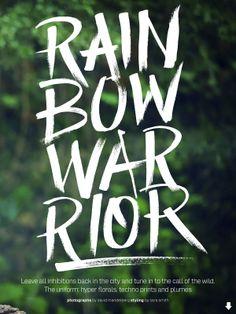 visual optimism; fashion editorials, shows, campaigns  more!: rainbow warrior: louise de chevigny by david mandelberg for elle australia ju...