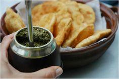 Mate y tortas fritas Uruguay