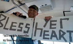 "Learning to talk country on the Redneck Comedy Tour. ""Affordable Nashville: 32 Free and Low-cost Tips"" http://solotravelerblog.com/nashville-32-free-and-low-cost-tips/"