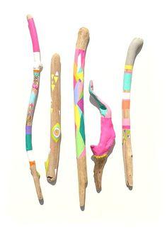 artful walking sticks