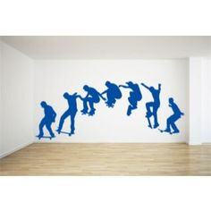 Skateboard Wall Sticker