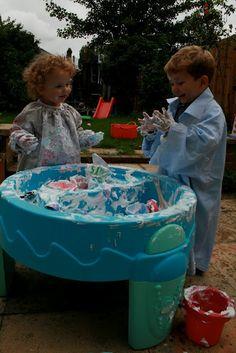 Messy Play - Shaving Foam