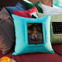 Outdoor Tablet Pillow.