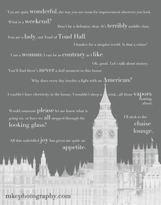 Downton Abby Quotes