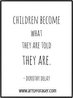 mindful parenting, unfair quotes, harsh words, damaging children, inspirational children quotes