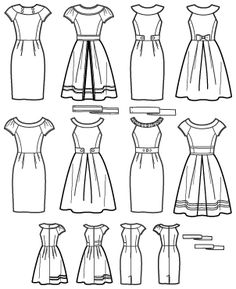 I see potential cuteness here. dress patterns, beauti dress, basic sewing, bridesmaid dresses, project runway, simplic 2588, frontback imag, simplicity 2588, sewing patterns