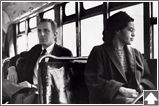 Profile of Rosa Parks, Civil Rights leader.