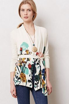 Blossomed Lengths Cardigan #anthropologie