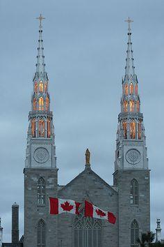 Ottawa. Notre-Dame Cathedral Basilica