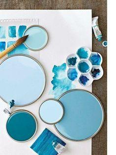Blue Paint Party