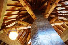 Fireplace Column / Timberline Lodge -Mt. Hood Oregon #ThrowbackThursday
