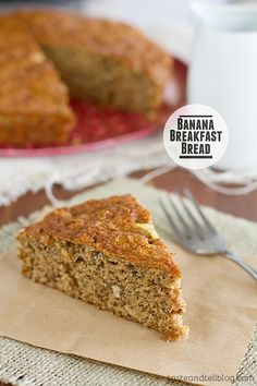 Banana Breakfast Bread | Taste and Tell