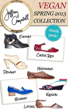 Jeffrey Campbell Spring Collection