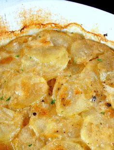 Gratin de pommes de terre à la flamande