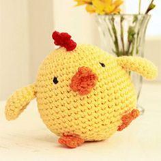 Chick - free crochet pattern