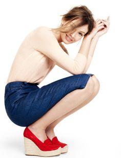 Altuzarra for J Crew... love the espadrilles. shoes, fashion, style, j crew, outfit, espadrilles, jcrew