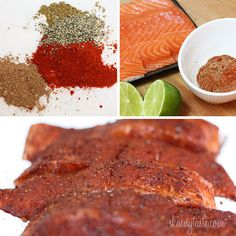 Smoky Spice Rubbed Grilled Salmon- made this tonight but turned it into grilled salmon tacos....yum!!! Skinnytaste