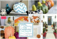 Fall Crafts for Home Decor