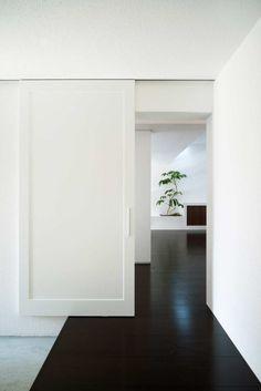 LOVE these sliding doors!