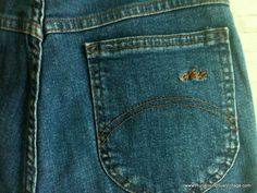 Vintage Jeans - 1980s Chic Blue Jeans by runaroundsuevintage, $30.00