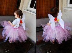 como hacer una falda de hada (tutu) ~ Todo Halloween