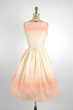 1950s Day Dress - rehearsal dinner Love this style!