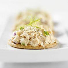 Tuna Salad and Crackers