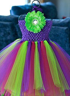 Custom you chose colors tutu dress