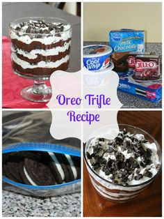 Frugal FanaticOreo Trifle Recipe » Frugal Fanatic-I'm thinking this would be great with peanut butter oreos or even mint!