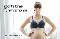Functional and cute nursing bra from CAKE