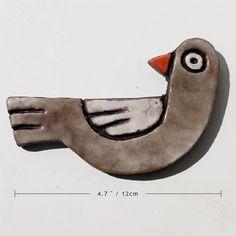 ceramic bird for gar...
