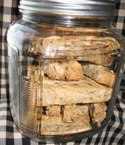 Great recipe for biscotti and it's gluten free!
