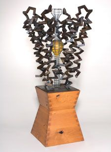 Birth of an Idea is modelled on an ion channel    © JULIAN VOSS-ANDREAE