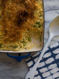 Hatch Chile Macaroni and Cheese | www.acozykitchen.com