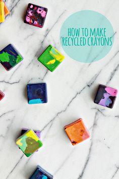 DIY Recycled Crayons