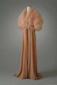 Dressing Gown  1934  The Meadow Brook Hall Historic Costume Collection