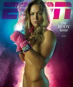 ESPN - Body Issue - Rhonda Rousey