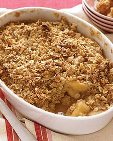 appl crisp, cook, apple crisp, bake, martha stewart