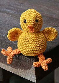 catania fine, glad påsk, easter chicken, crochet anim