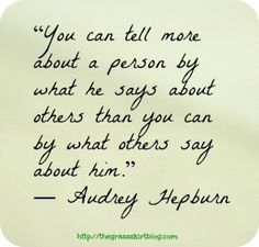 What people say...