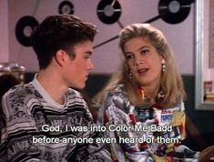 And this scene from 90210 :