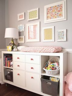 decor, crafti ladi, dresser, frame craft, frame idea, dream houses, drawer, ikea kallax ideas, craft night