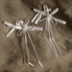 Accent Bows - Eternal - White