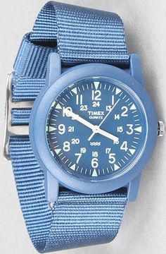 The Camper Watch in Blue : Karmaloop.com - Global Concrete Culture - StyleSays